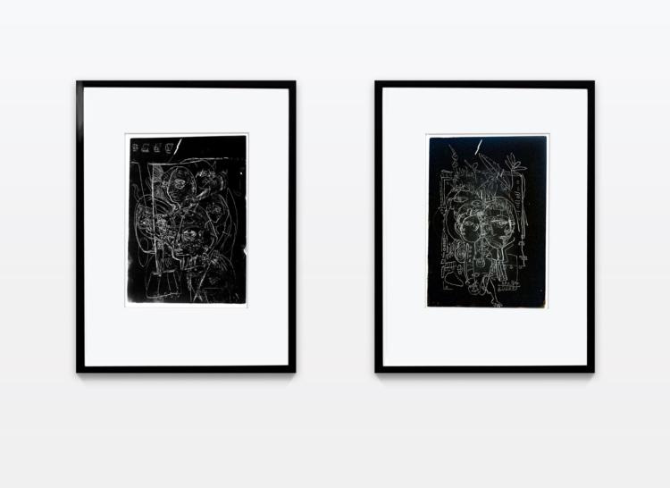 Koch lara untitled monotypie kopf gregor hildebrandt jungekunst