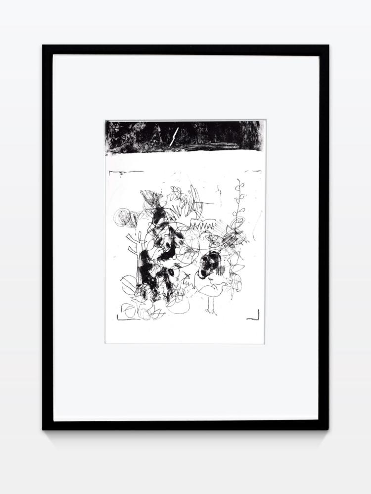Koch lara untitled vogel lithographie gregor hildebrandt muenchen
