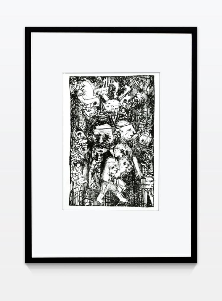 Koch lara untitled10 litografie gregor hildebrandt muenchen