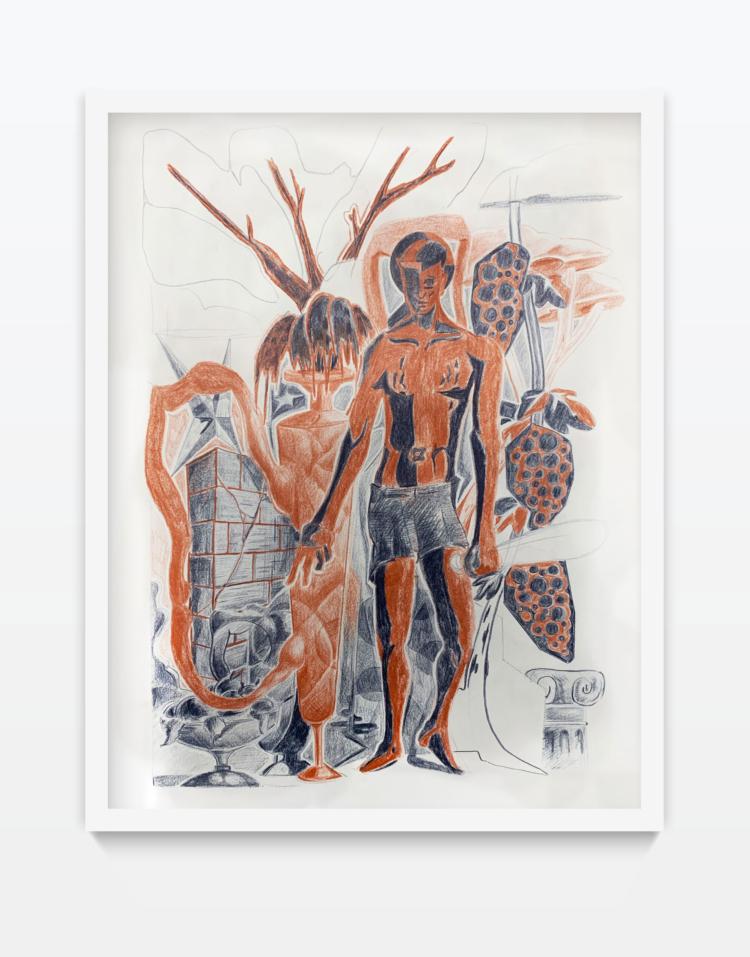 Lukas timur herakles zeichnung gregor hildebrandt youngartist