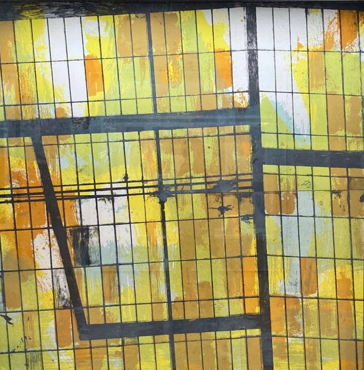 Stein franz scherbengericht lithographie gregor hildebrandt muenchen